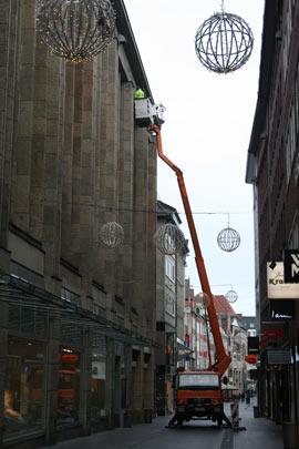 Weihnachtsbeleuchtung Mobile Stromversorgung Bremen GmbH