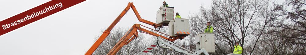 Strassenbeleuchtung Mobile Stromversorgung Bremen GmbH
